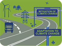 Pathfinding through climate change