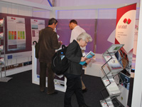 Baltadapt Stand at the Project & Networking Village